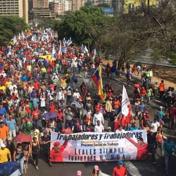 Workers march, rally, strike on global May Day