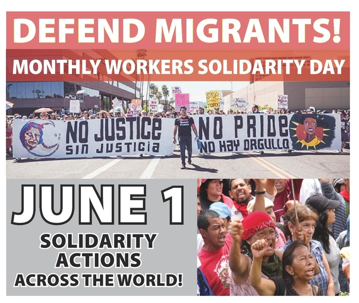 June 1 Workers Solidarity Day Actions