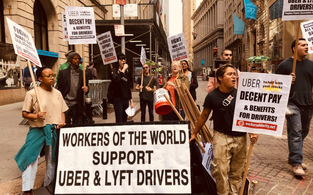 Uber Stock Sales Flop As Global Rideshare Workers Strike