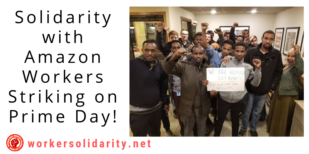 ALERT: Amazon Workers Set to Strike on Prime Day – Take Action in Solidarity!